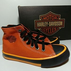 Harley-Davidson Shoes - 💥💛Youth HARLEY DAVIDSON high top Sneakers NEW💥